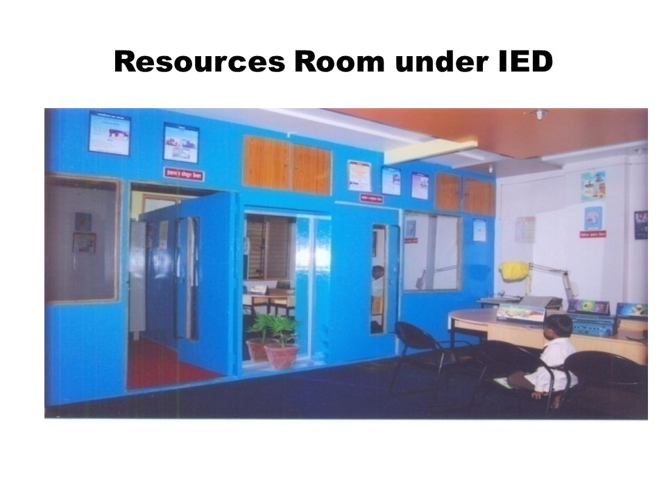 Resources Room under IED
