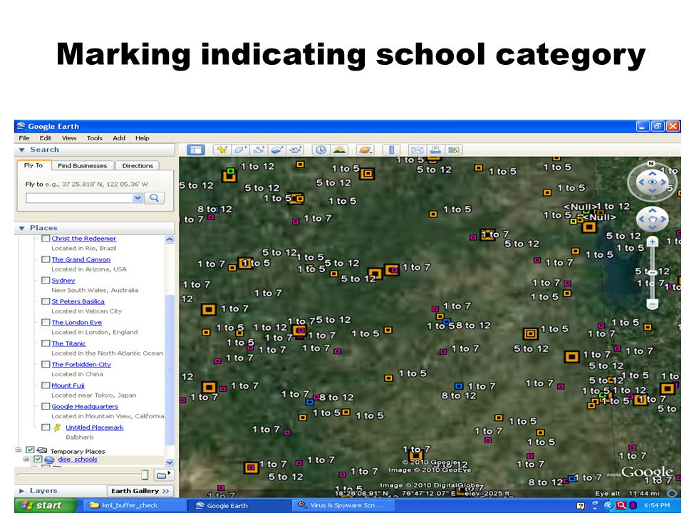 School details – showing DISE and SEMIS and census details