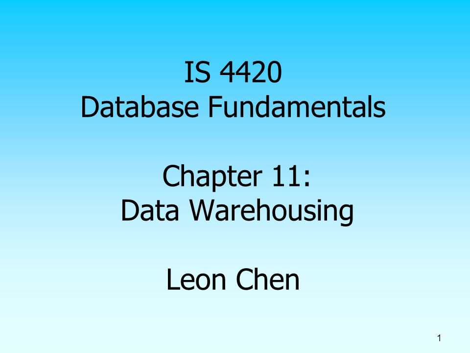 2 Overview What is data warehouse.Why data warehouse.