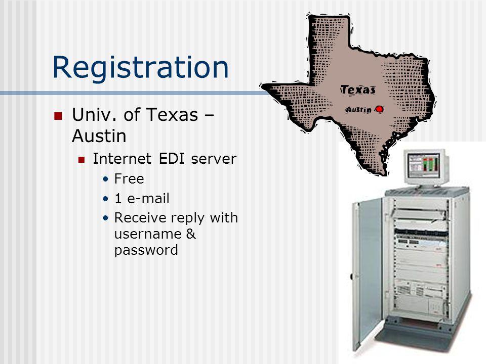 Registration Univ.