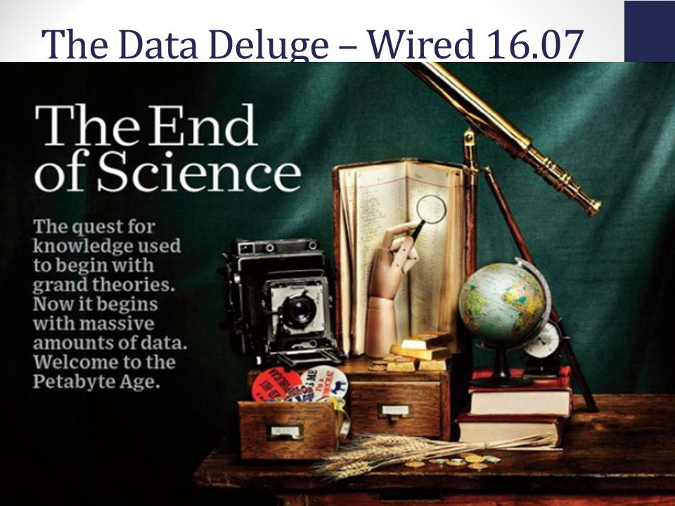 Access Innovations, Inc.. 12/11/2013 The Data Deluge – Wired 16.07