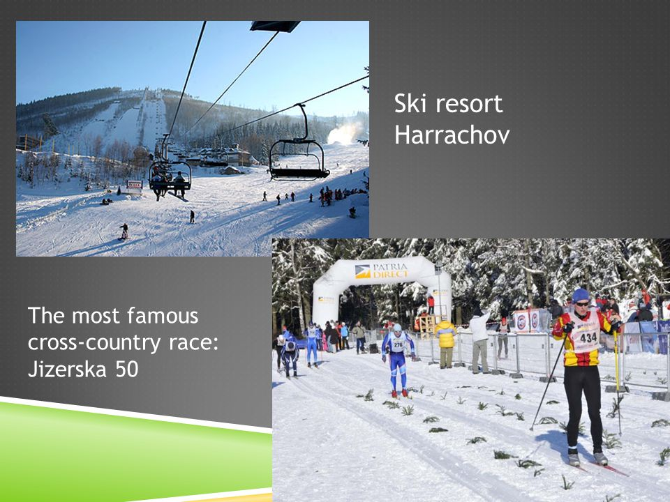 Ski resort Harrachov The most famous cross-country race: Jizerska 50