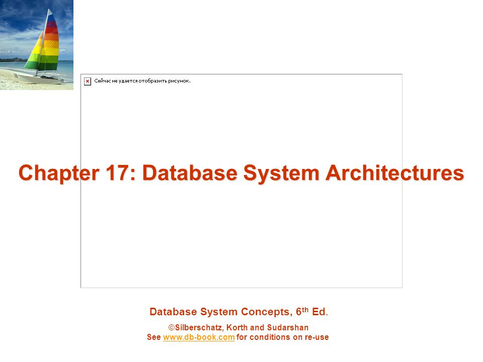 ©Silberschatz, Korth and Sudarshan17.22Database System Concepts - 6 th Edition Factors Limiting Speedup and Scaleup Speedup and scaleup are often sublinear due to: Startup costs: Cost of starting up multiple processes may dominate computation time, if the degree of parallelism is high.
