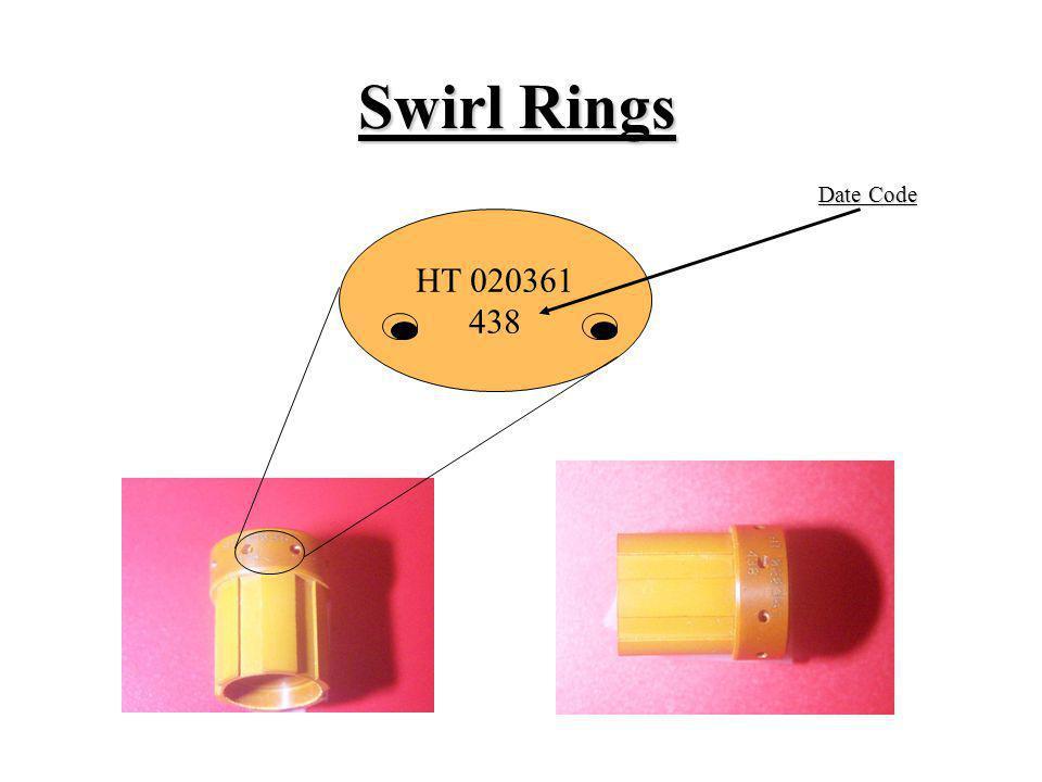 Swirl Rings HT 020361 438 Date Code