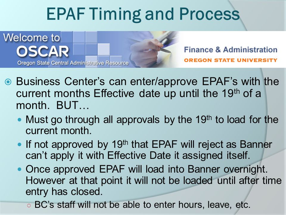 Example o An employee has a Supervisor update and an FTE change becoming effective October 1 st 2010.