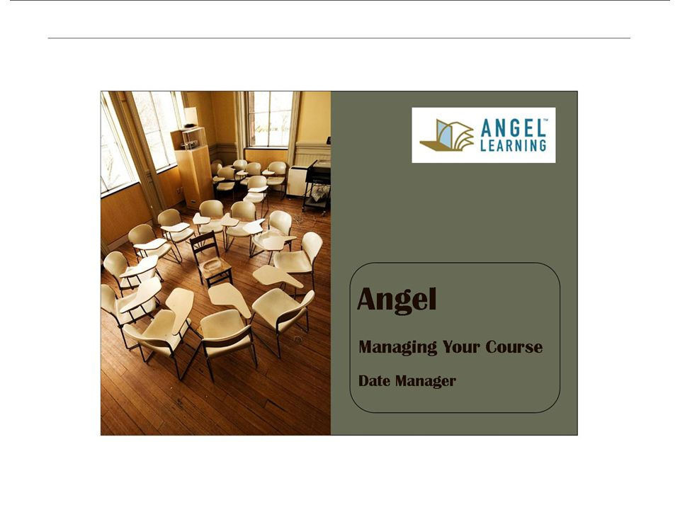 Angel Manage Your Course Date Manager
