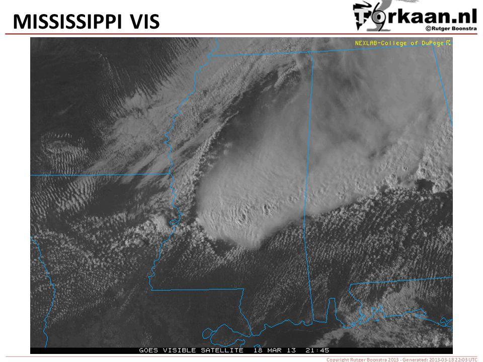 MISSISSIPPI VIS Copyright Rutger Boonstra 2013 - Generated: 2013-03-18 22:03 UTC
