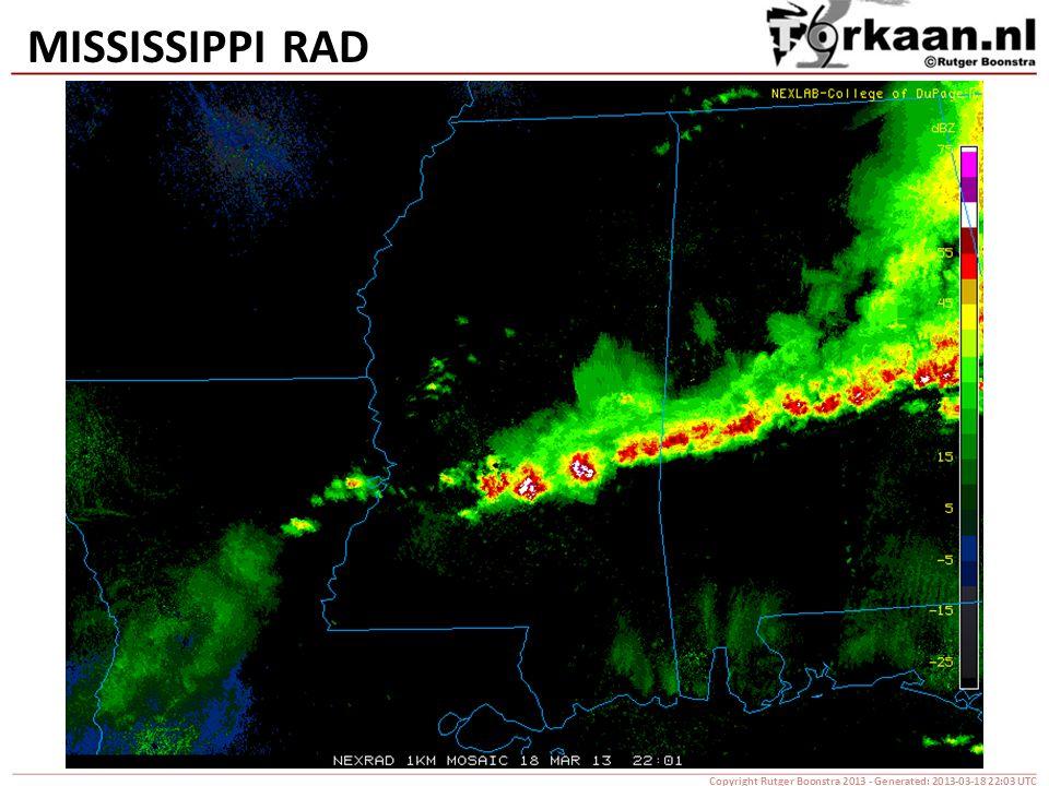 MISSISSIPPI RAD Copyright Rutger Boonstra 2013 - Generated: 2013-03-18 22:03 UTC