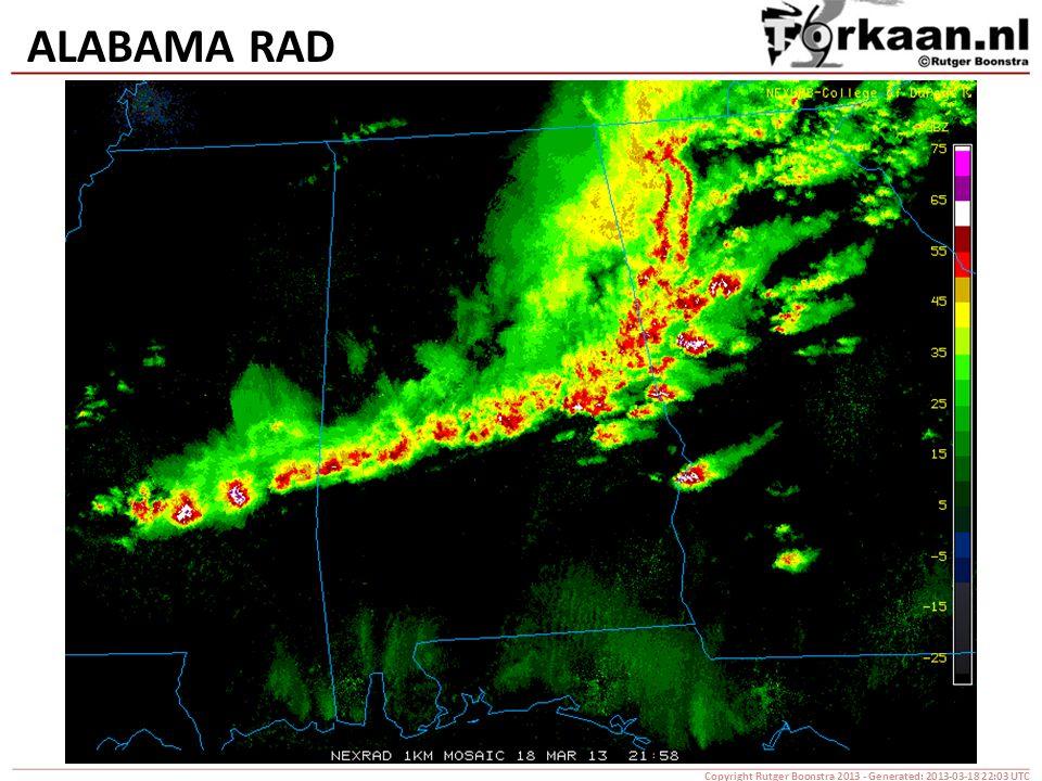 ALABAMA RAD Copyright Rutger Boonstra 2013 - Generated: 2013-03-18 22:03 UTC