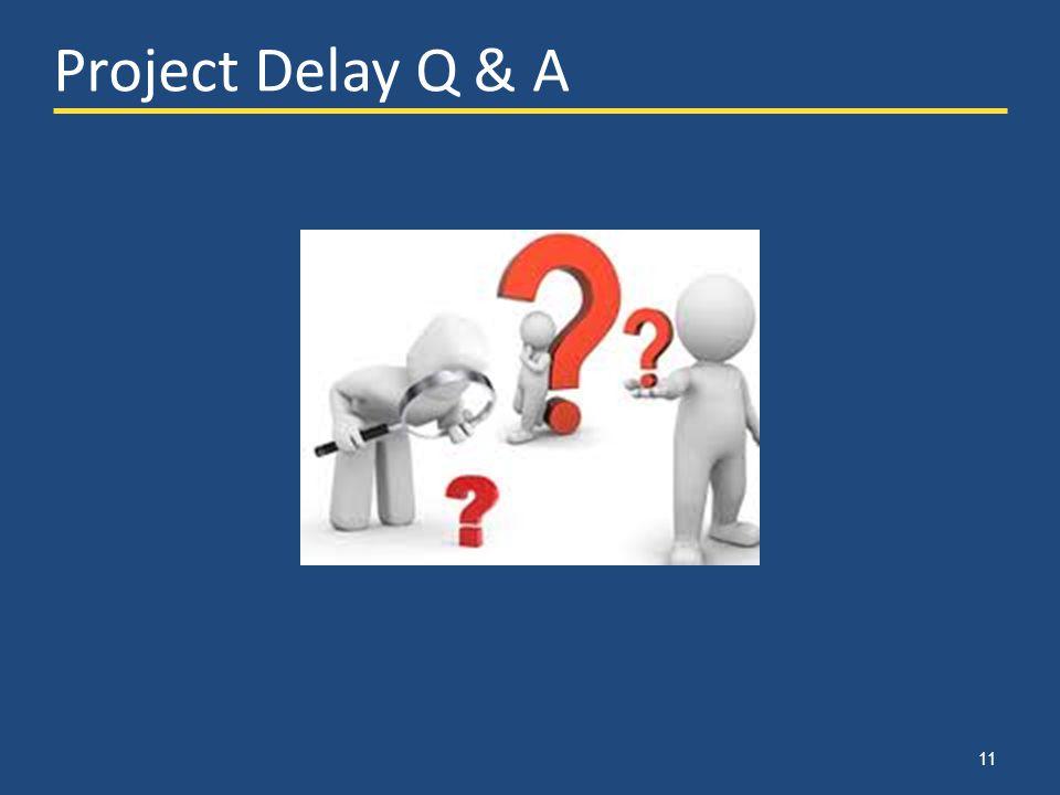 11 Project Delay Q & A