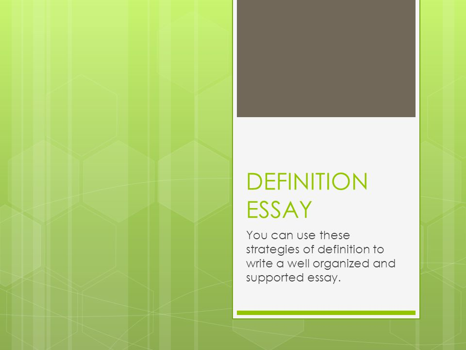 FUNCTION This strategy helps the reader understand how the concept (idea) functions or operates in the real world.