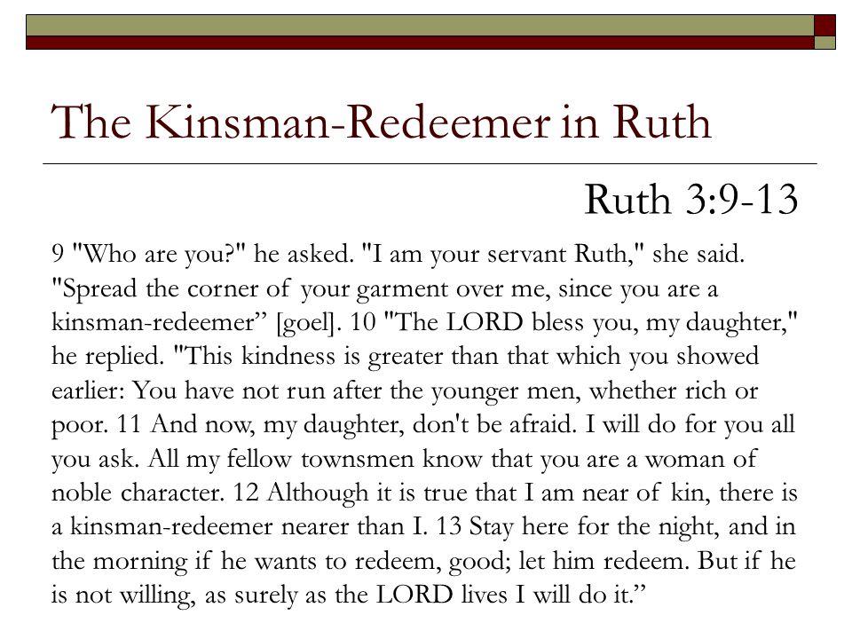 The Kinsman-Redeemer in Ruth 9