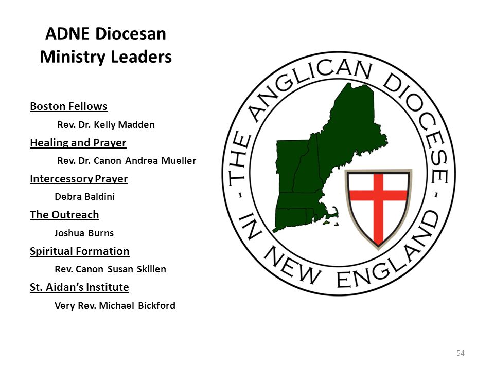 ADNE Diocesan Ministry Leaders Boston Fellows Rev.