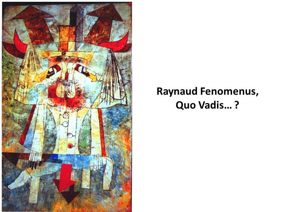 Raynaud Fenomenus, Quo Vadis… ?