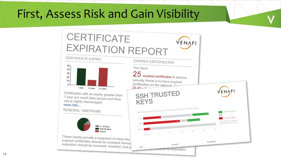 18 First, Assess Risk and Gain Visibility