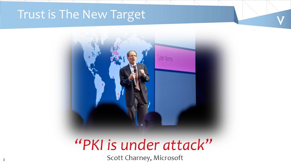 8 Trust is The New Target PKI is under attack Scott Charney, Microsoft