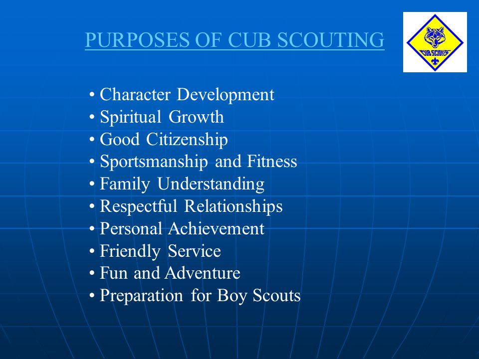 CUB SCOUTINGS 12 CORE VALUES 1.Citizenship 2. Compassion 3.