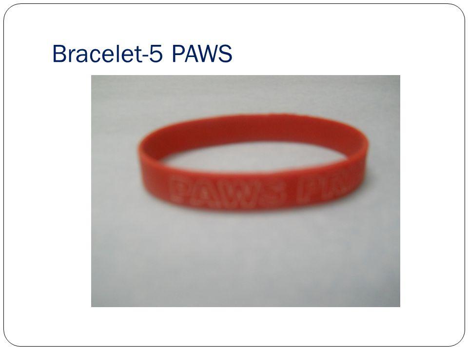 Bracelet-5 PAWS