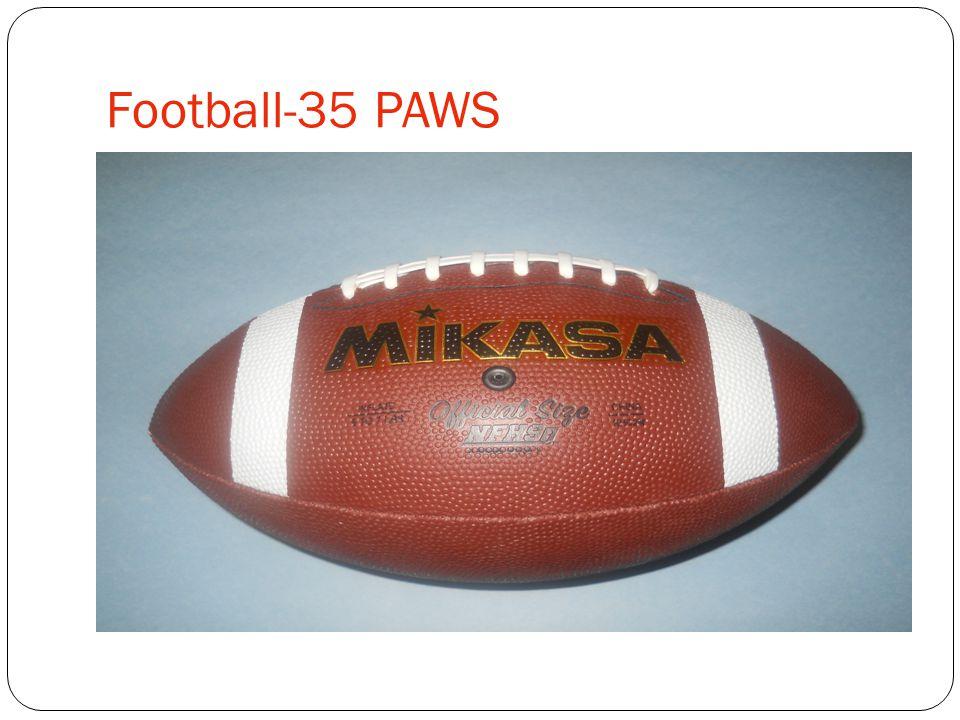 Football-35 PAWS