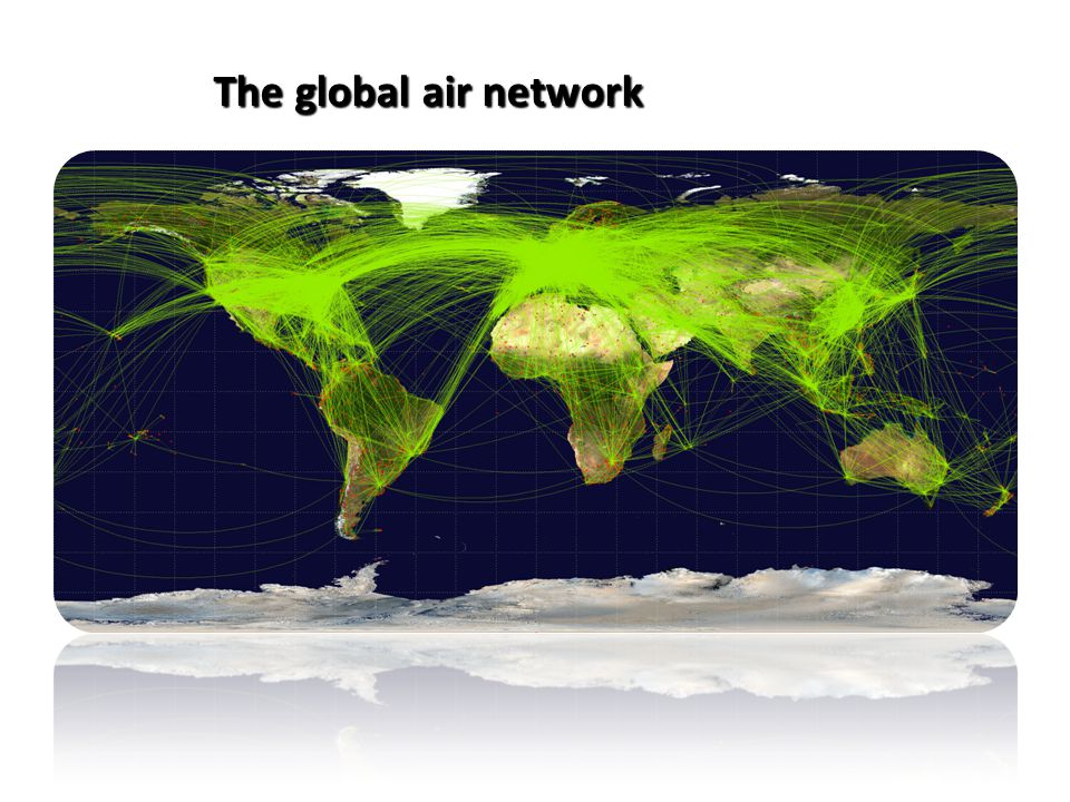 The global air network