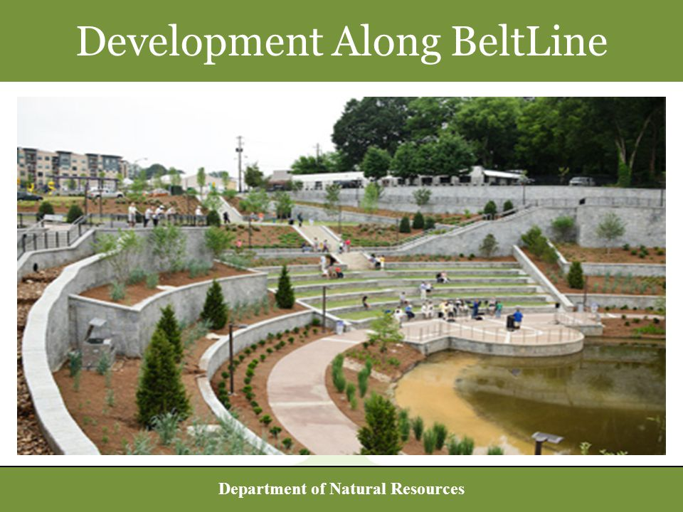 Department of Natural Resources Development Along BeltLine