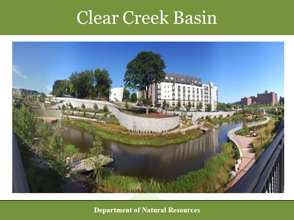 Department of Natural Resources Clear Creek Basin