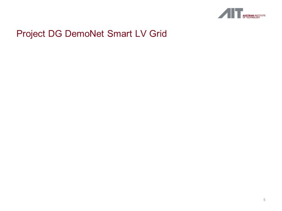 Project DG DemoNet Smart LV Grid 6