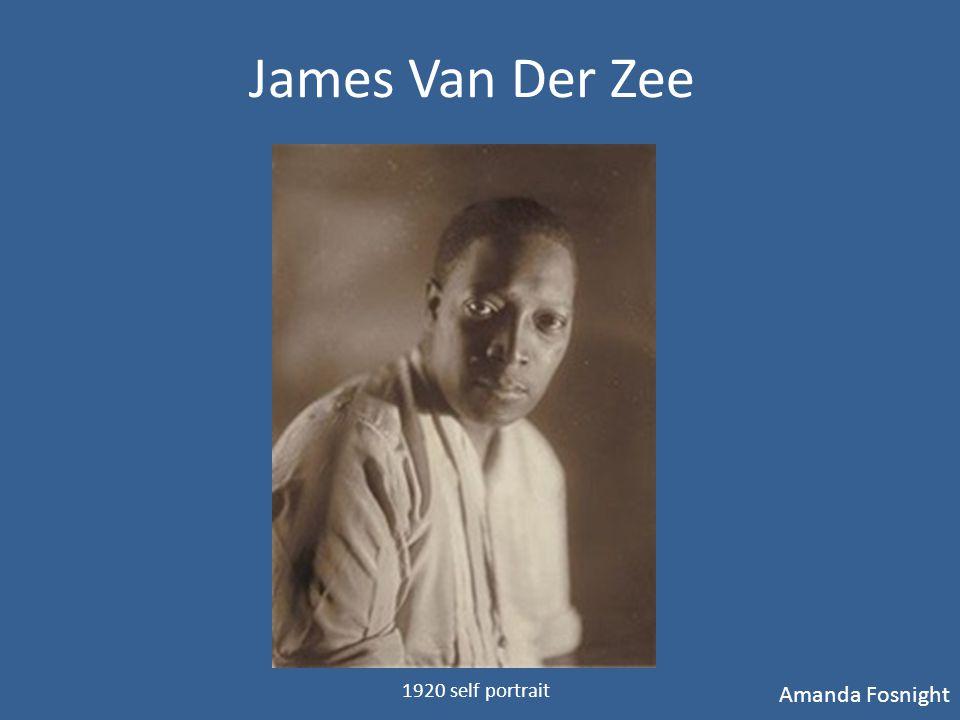 Who Was James Van Der Zee.