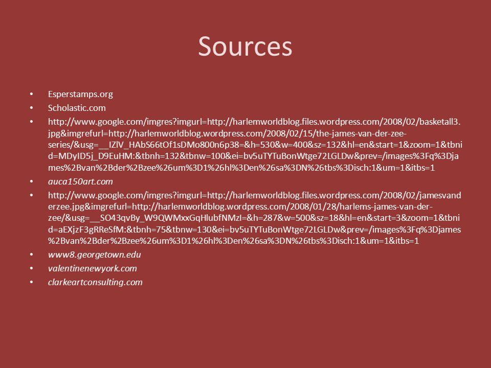 Sources Esperstamps.org Scholastic.com http://www.google.com/imgres?imgurl=http://harlemworldblog.files.wordpress.com/2008/02/basketall3. jpg&imgrefur
