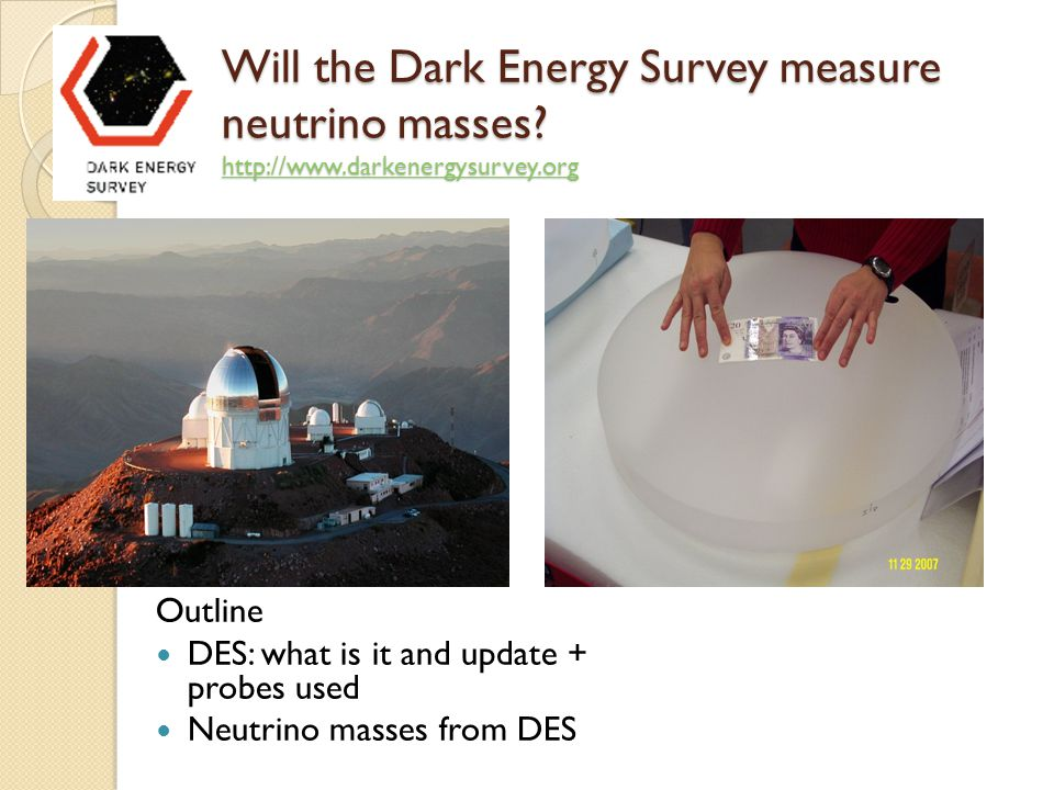 Will the Dark Energy Survey measure neutrino masses.