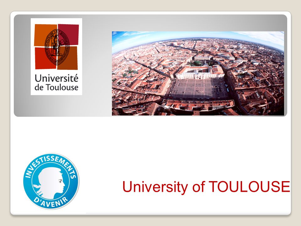 The territory Located in Midi- Pyrénees region 3 M inhabitants Toulouse (the capital city) counts approx.