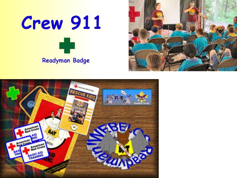 Crew 911 Readyman Badge