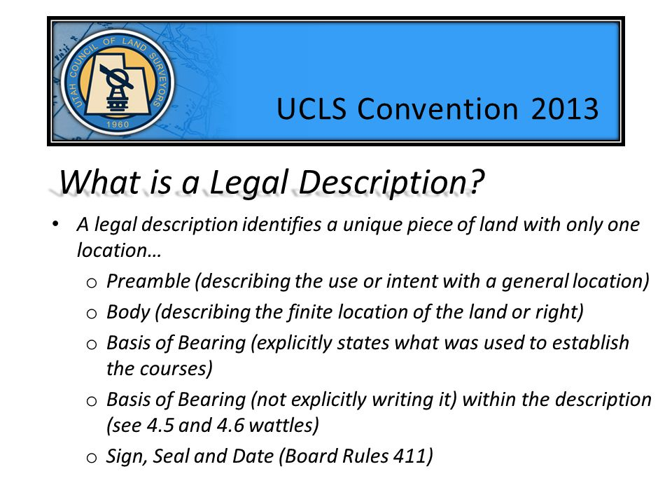 Parallel With NOT Parallel To (really?) UCLS Convention 2013