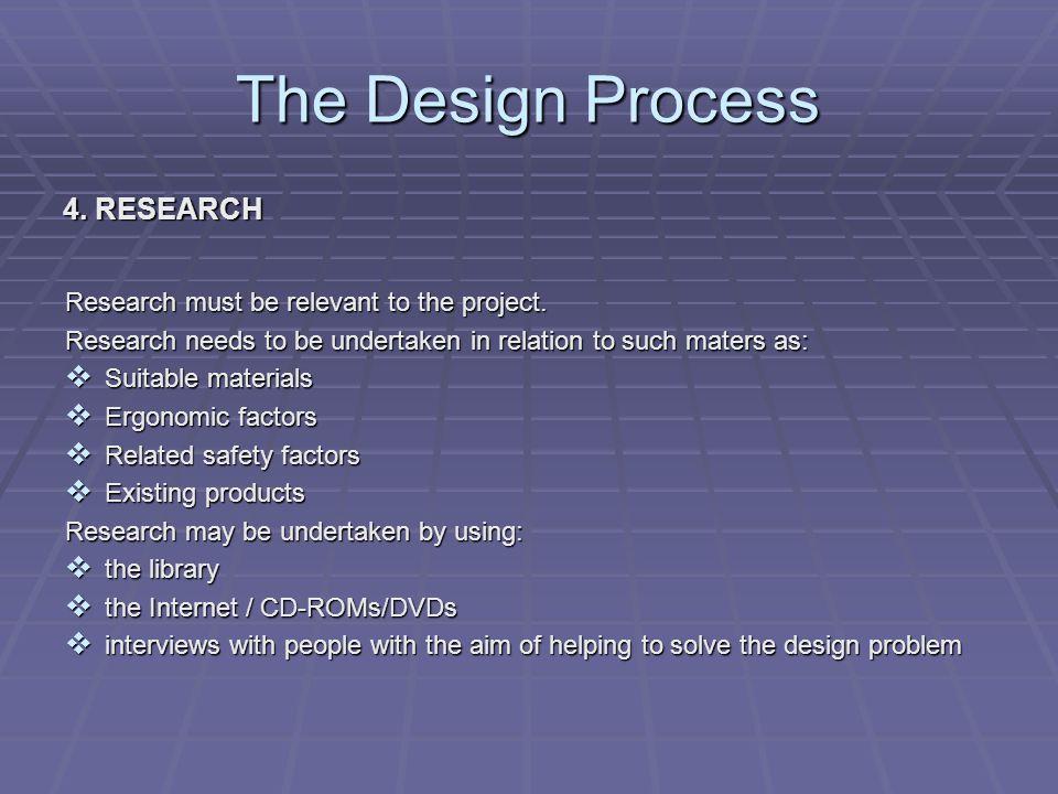 The Design Process 5.