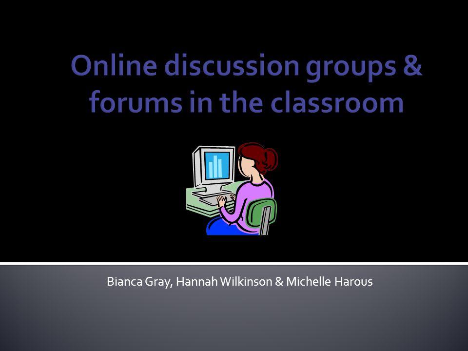 Bianca Gray, Hannah Wilkinson & Michelle Harous