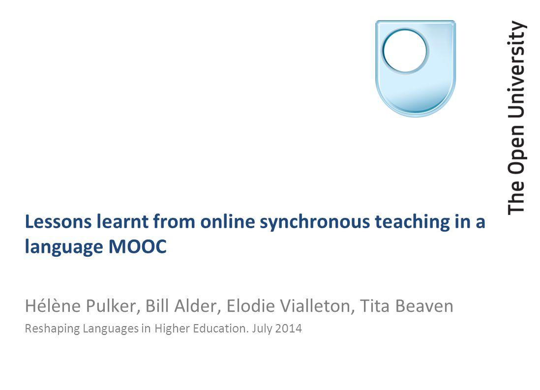 The MOOC Travailler en français