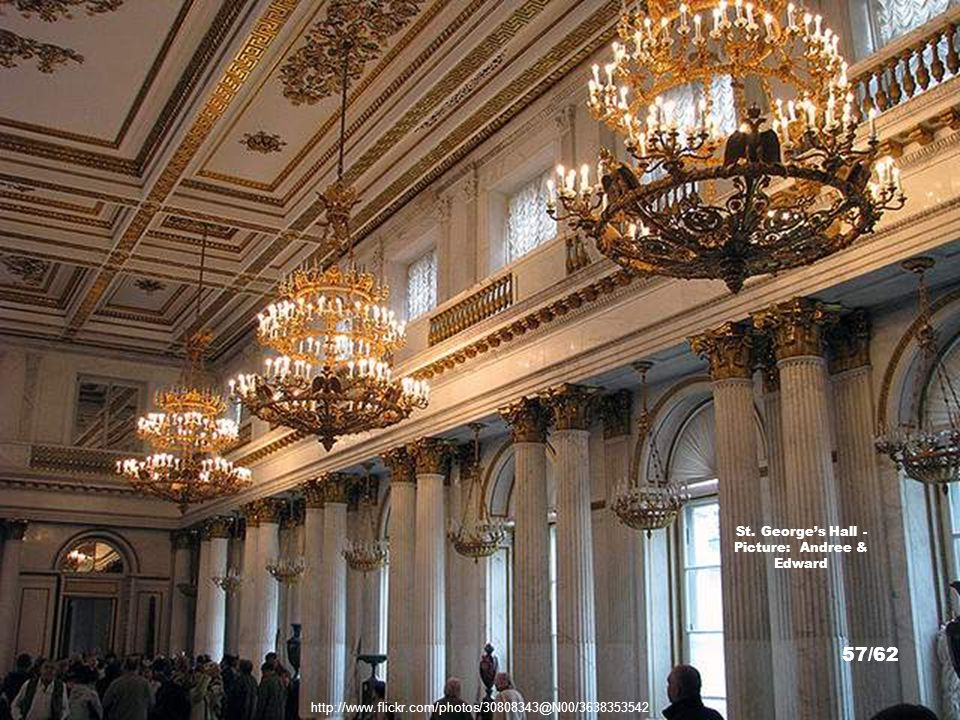 http://commons.wikimedia.org/wiki/File:Ermitáž_(13).jpg St. George's Hall - Picture: Dezidor 56/62