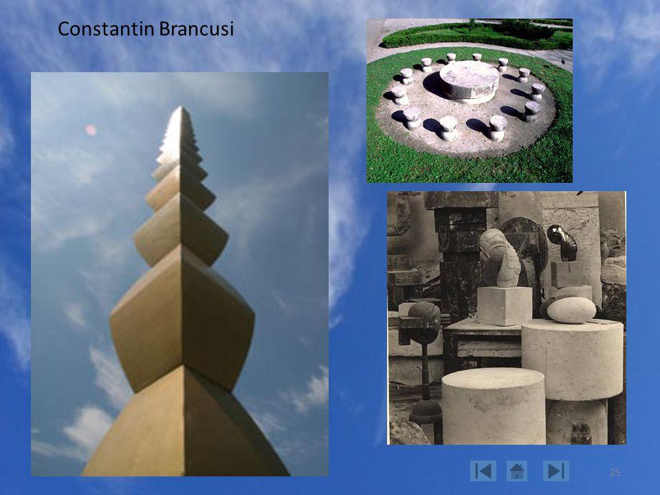 25 Constantin Brancusi