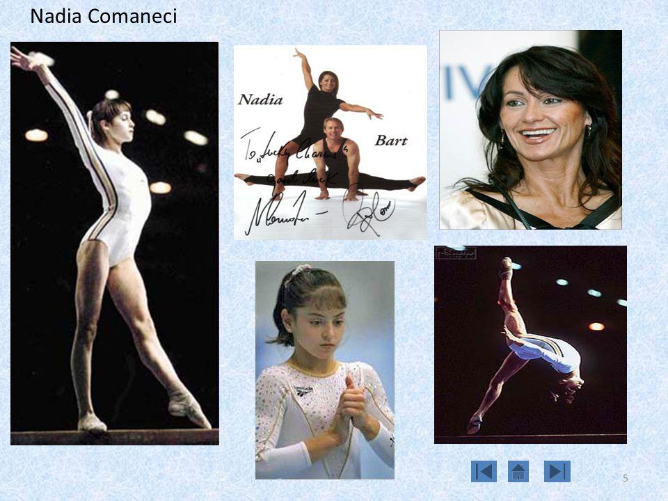 5 Nadia Comaneci