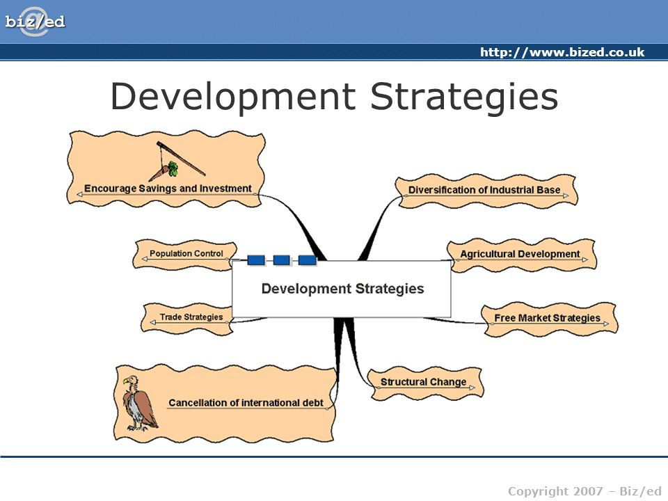http://www.bized.co.uk Copyright 2007 – Biz/ed Development Strategies
