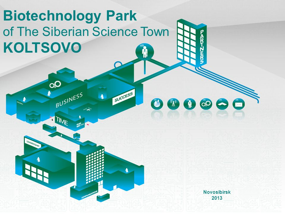 Biotechnology Park of The Siberian Science Town KOLTSOVO Novosibirsk 2013