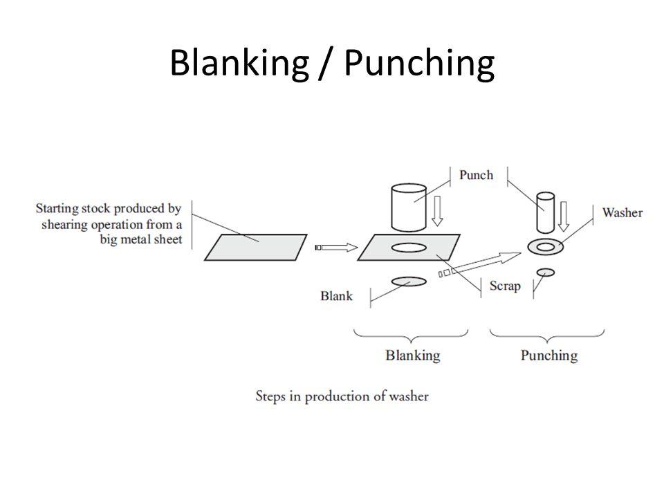 Blanking / Punching
