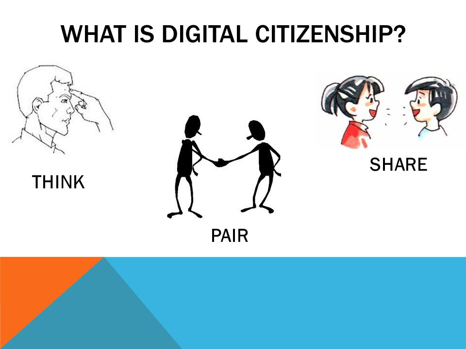 DIGITAL CITIZENSHIP Digital Citizenship is a concept which helps teachers, technology leaders and parents understand what students, children, & technology users should know to use technology appropriately.