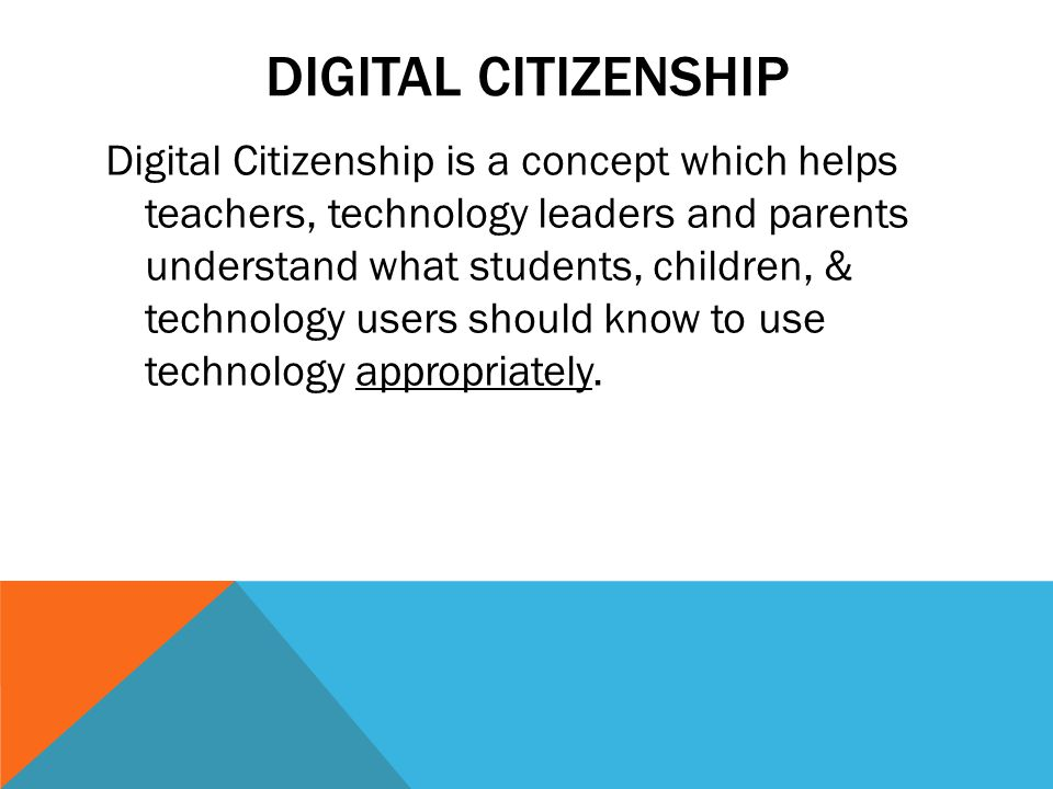 ACTIVITIES THAT CAN FOLLOW Create a definition for digital citizenship Draw a picture of a good digital citizenship Discuss what we do if we know someone is not being a good digital citizen.
