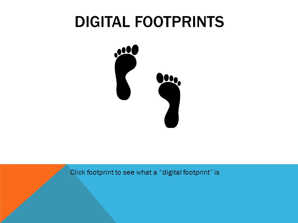 DISCUSS IMPORTANCE OF DIGITAL FOOTPRINT *Photos/videos *Emails and social networking *Blogging/wikis