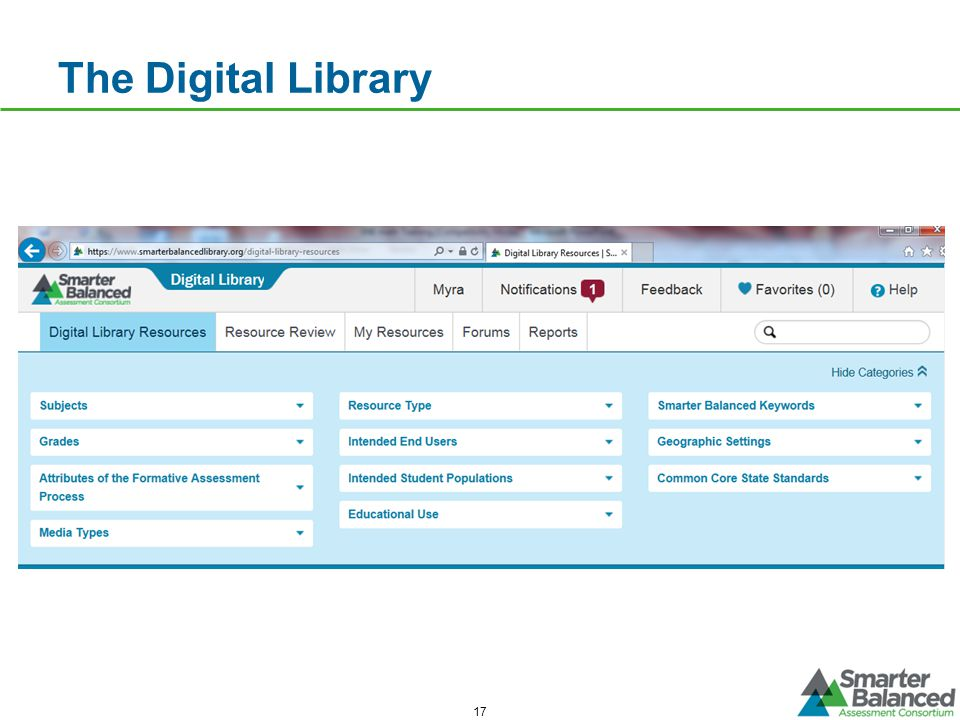 The Digital Library 17