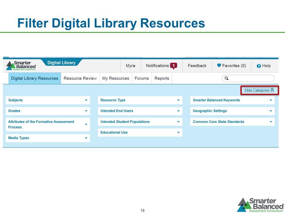 Filter Digital Library Resources 19