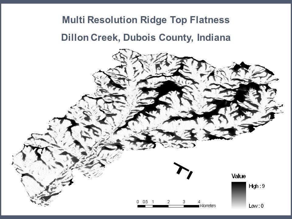 23 MRRTF Multi Resolution Ridge Top Flatness Dillon Creek, Dubois County, Indiana