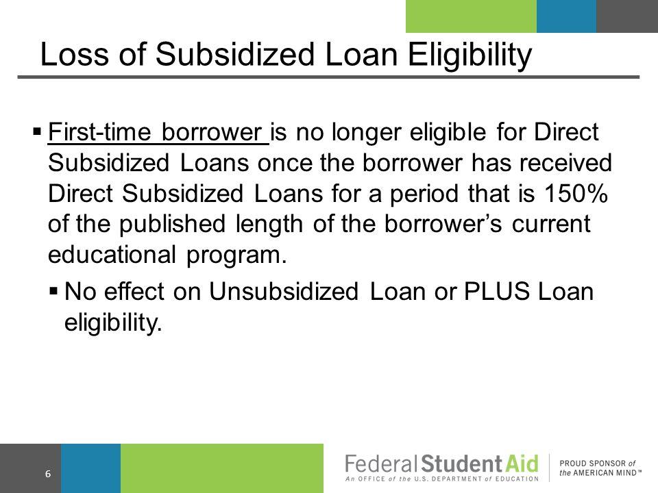 Subsidized Usage Period 17