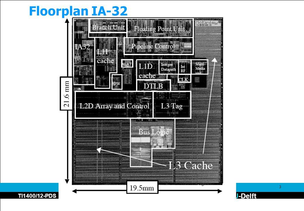 TU-Delft TI1400/12-PDS 3 Floorplan IA-32